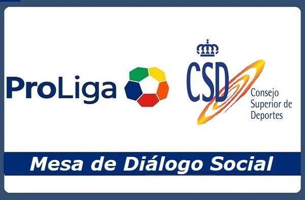 ProLiga solicita por carta al CSD la constitución de una mesa de diálogo social para el fútbol no profesional en la que estén presentes la patronal y los sindicatos