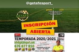 Getafesportiscripcion2021cartel