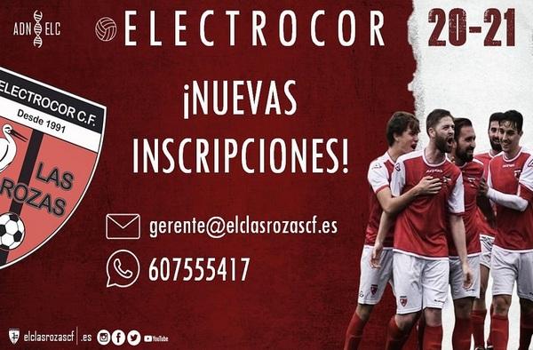 Nuevas inscripciones en Electrocor Las Rozas - Temporada 2020/21
