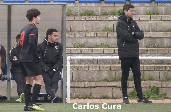 Carlos Cura seguirá en el banquillo del C.D. Ursaria en la temporada 2020/21