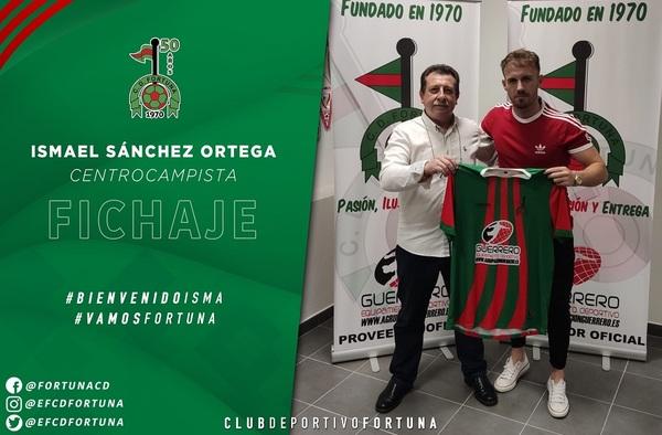 Isma Sánchez, se convierte en el primer fichaje del C.D. Fortuna para la temporada 2020/21