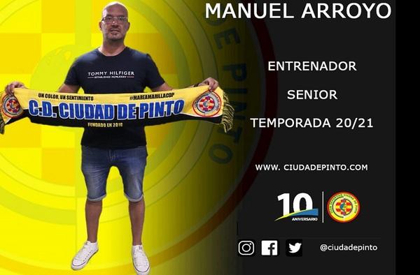 Manu Arroyo toma los mandos del sénior del Ciudad de Pinto - Temporada 2020/21