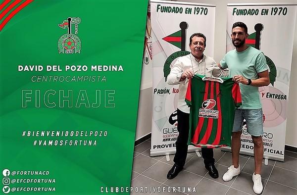 Nueva incorporación para el C.D. Fortuna, llega David Del Pozo