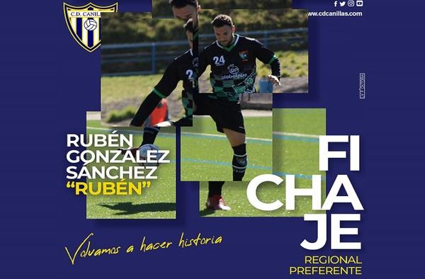 El tercer refuerzo del Canillas para la temporada 2020/21, se llama Rubén González