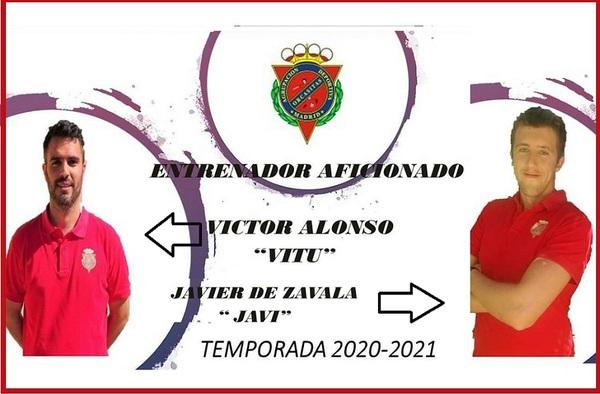 Víctor Alonso seguirá una temporada más en el banquillo de la A.D. Orcasitas