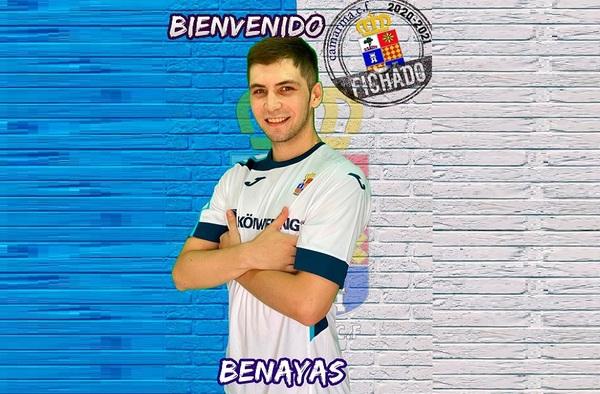 Adrián Benayas, nuevo portero para el Camarma C.F. en la temporada 2020/21