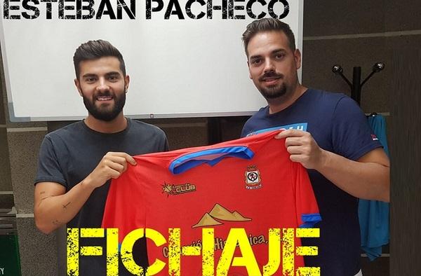 Esteban Pacheco firma por el C.D. Coslada para la temporada 2020/21
