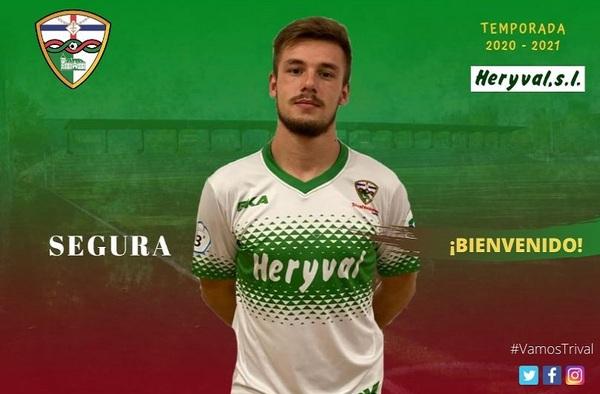 El C.F. Trival Valderas firma a Alejandro Segura para la temporada 2020/21