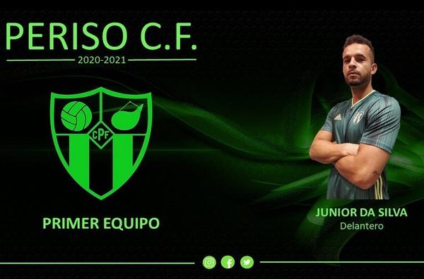 Junior Da Silva se convierte en nuevo jugador del Periso CF para la temporada 2020/21