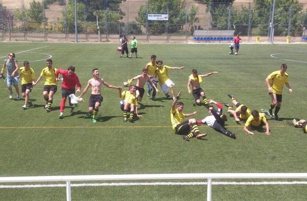 Ascenso como Campeón de liga del Villaverde Bajo Juvenil