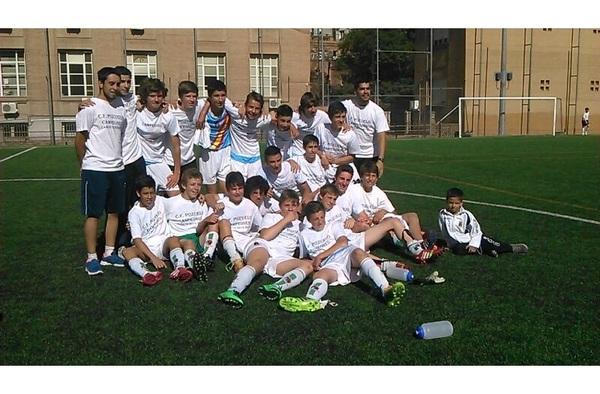 """El Cadete """"C"""" del C.F. Pozuelo de Alarcón Campeón de liga en la última jornada"""