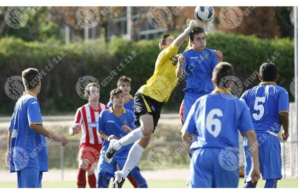"""El Getafe C.F. Campeón del V Torneo de Fútbol Juvenil """"Rafael Guillén"""" de Collado Mediano"""