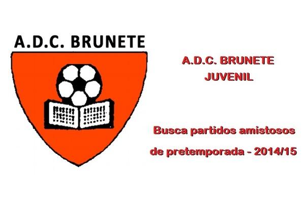 El A.D.C. Brunete Juvenil busca partidos amistosos