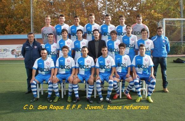 El C.D. San Roque E.F.F. busca jugadores para su equipo Juvenil de Preferente
