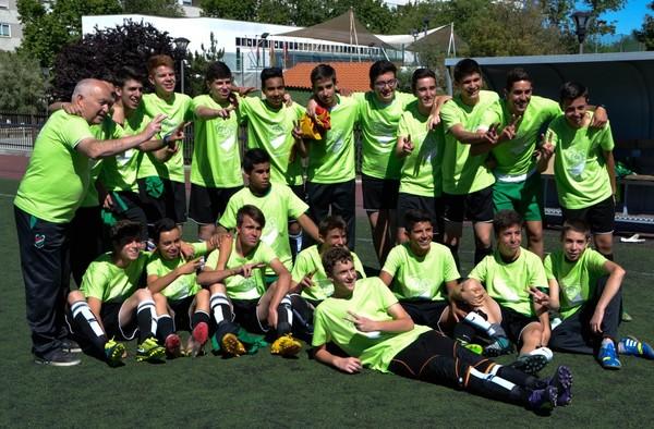 Campeonato de liga y ascenso para el Cadete del C.D.E. Amistad  (Temporada 2014/15)
