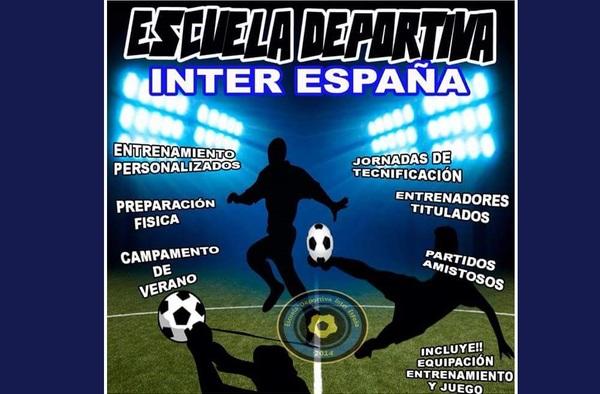 La Escuela Deportiva Inter España aún tiene plazas para jugadores nacidos en el año 2002 y 2003