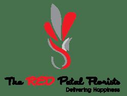 The RED Petal Florist logo