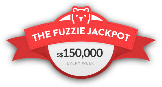 The Fuzzie Jackpot 150000$ Every week
