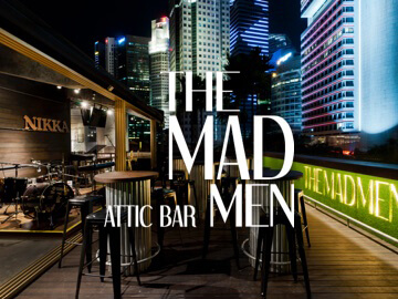 THE MAD MEN ATTIC BAR