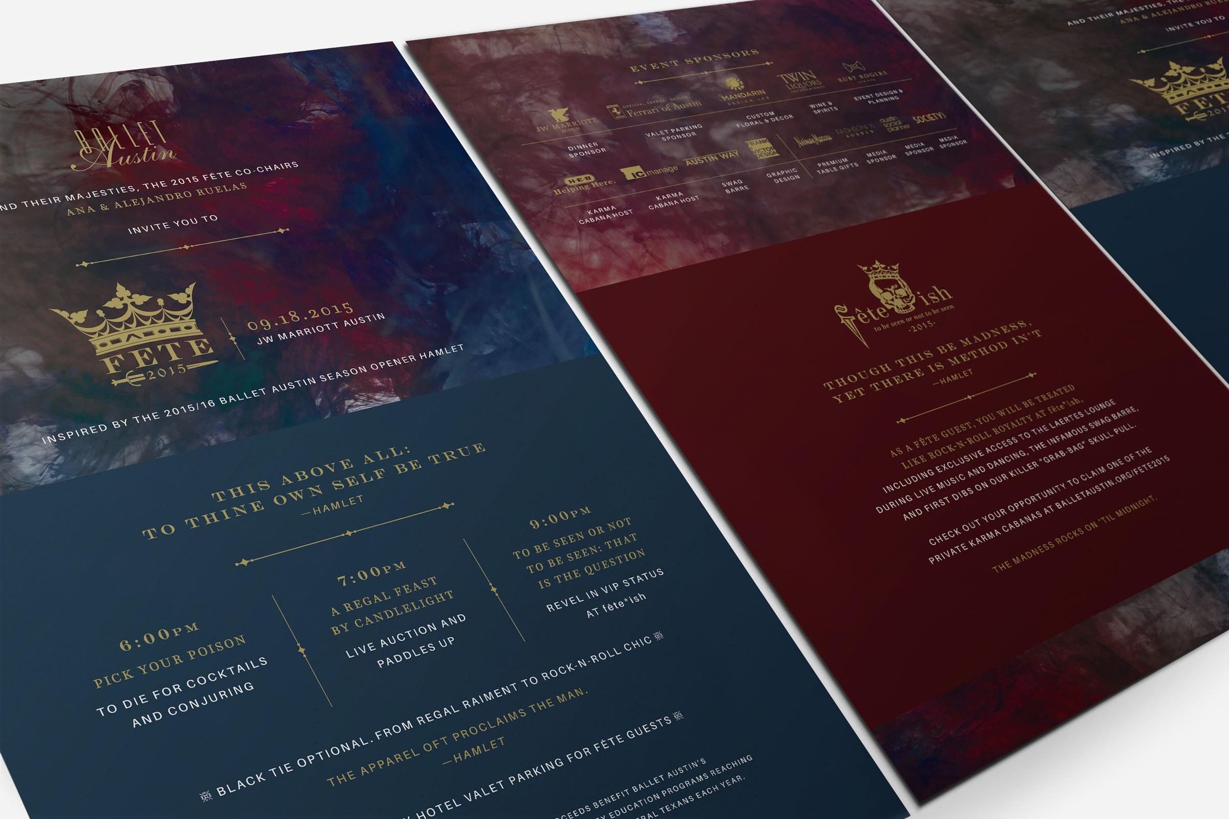 Print Design for Austin Ballet