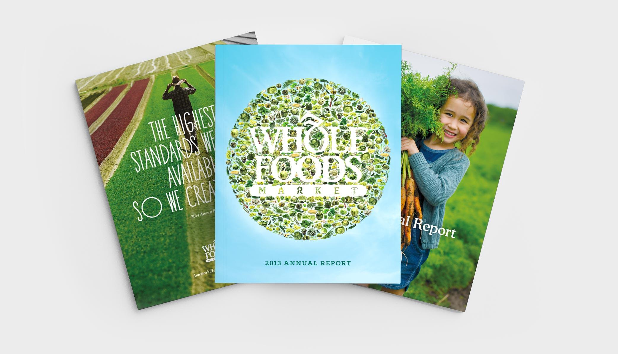 Graphic Design for Whole Foods