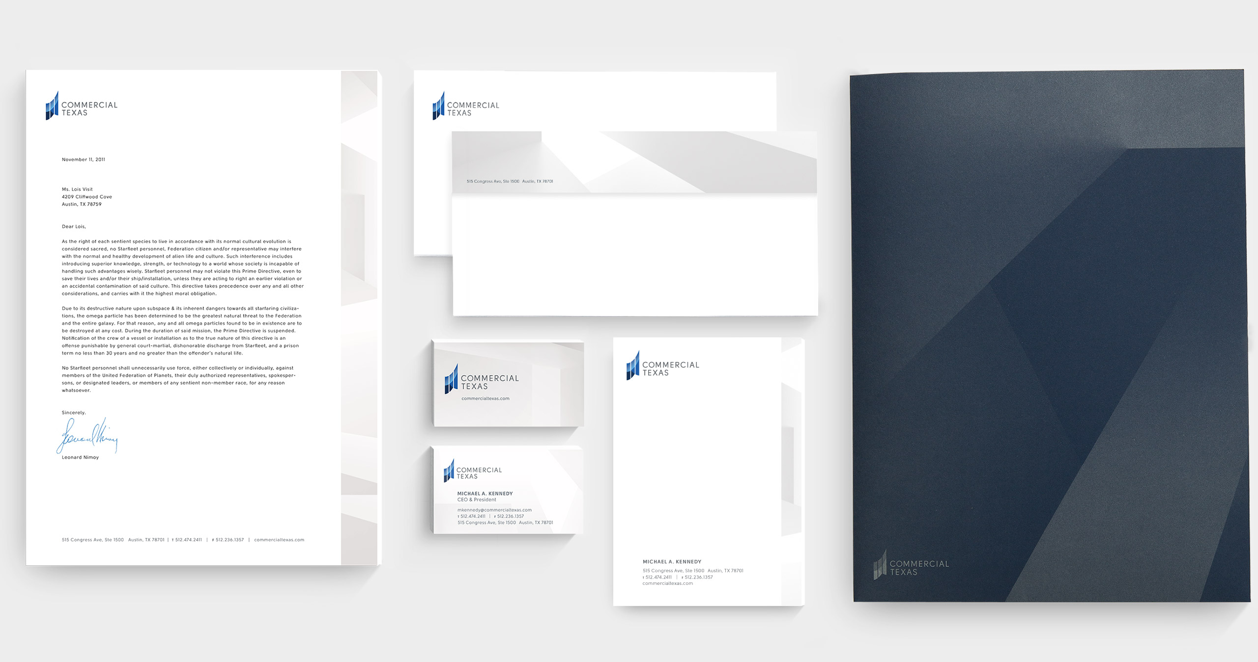 Identity Design for Austin Company