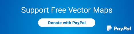 Support Free Vector Maps with PayPal