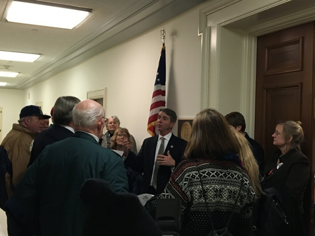 FreedomWorks activists meet with Rep. Rob Wittman