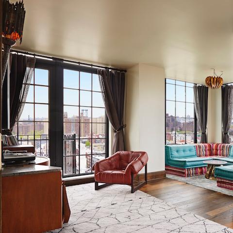 Ludlow Hotel suite