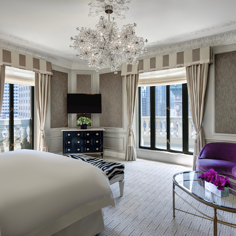 Saint Regis Hotel in New York