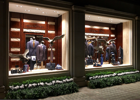 Stefano Ricci flagship store in London