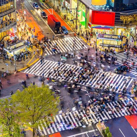 Tokyo shopping street