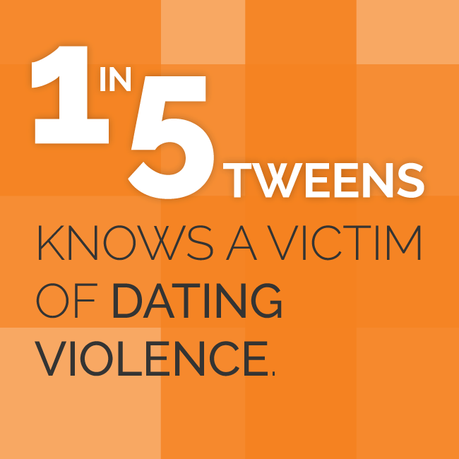 1 in 5 Tweens Knows a Victim of Dating Violence
