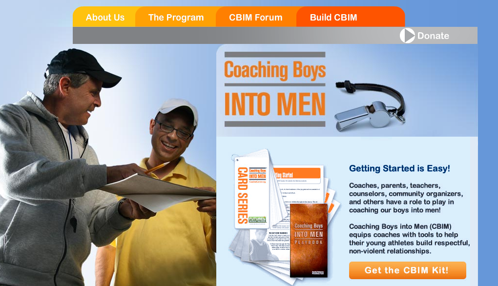 Coaching Boys into Men Screenshot