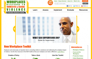 Workplaces Respond website
