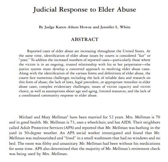 JudicialResponse