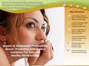 Adolescent Health Module