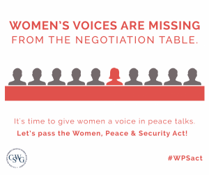 Women Peace and Security Act Social Media Graphic_Updated