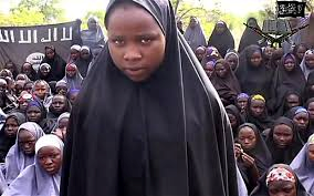 Young woman abducted by Boko Haram