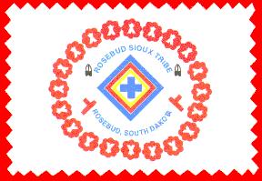 Rosebud flag