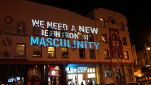 We nee a new definition of masculinity.