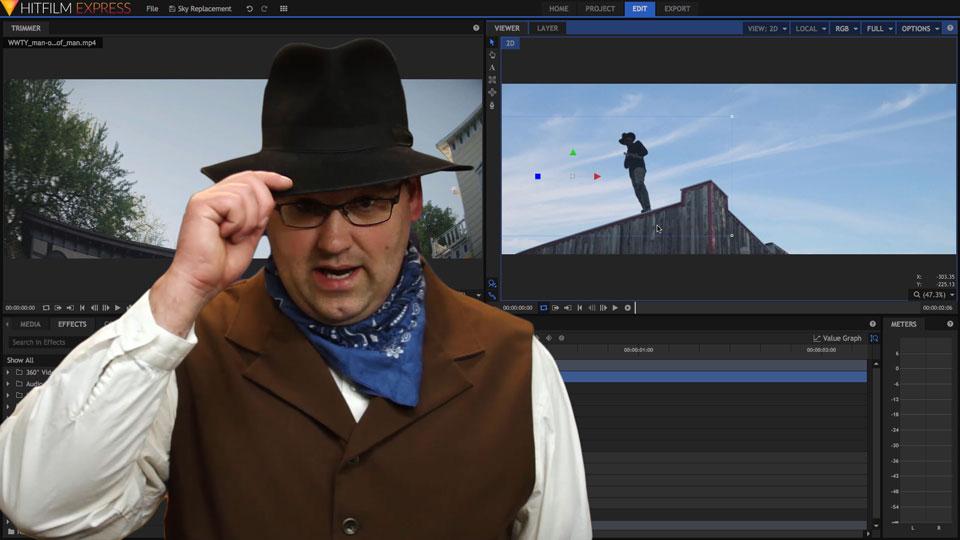 Sky replacement tutorial thumbnail