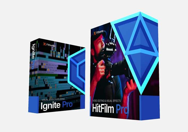 FXhome Pro Video bundle: HitFilm Pro and Ignite Pro