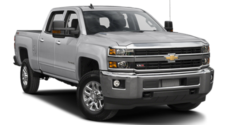 Stock Photo of 2016 Chevrolet Silverado 2500 HD