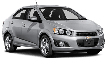 Stock Photo of 2016 Chevrolet Sonic