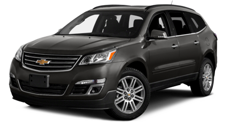 Stock Photo of 2016 Chevrolet Traverse
