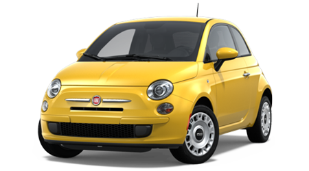 Stock Photo of 2016 Fiat 500
