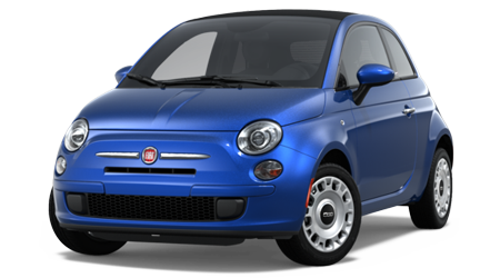 Stock Photo of 2016 Fiat 500C