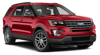 Stock Photo of 2016 Ford Explorer