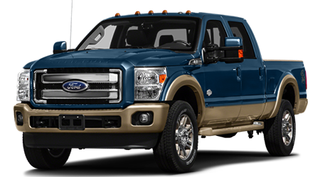 Stock Photo of 2016 Ford Super Duty F-250